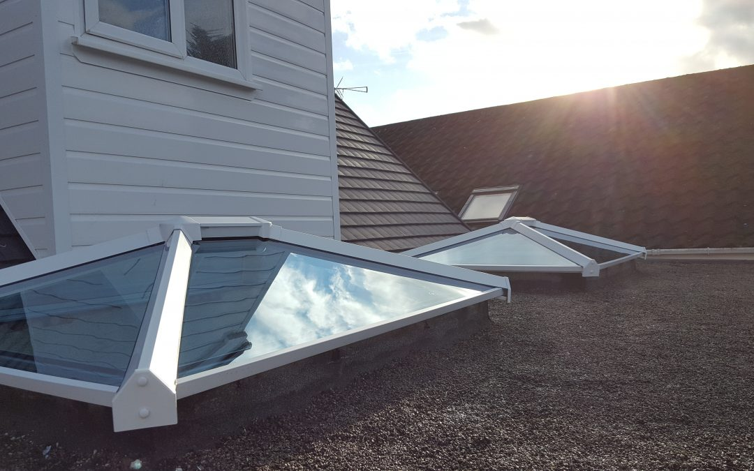 sky pods for Mr and Mrs Stocker, Burbage